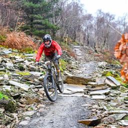Photo of Sarah GAMSJAEGER at BikePark Wales