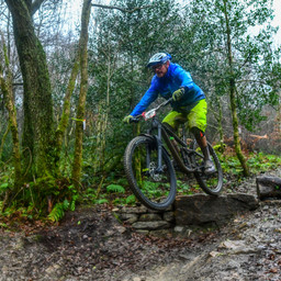 Photo of Dominic WOOD at BikePark Wales