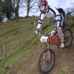 Photo of Andrew HALL (mas) at Nantmawr Quarry