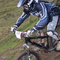 Photo of Andy TAIT at Nantmawr Quarry