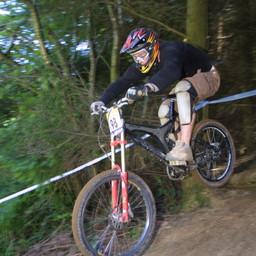 Photo of Pete HOSKER at Rhyd y Felin