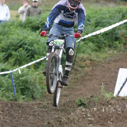 Photo of Mike STRICKLAND at Moelfre