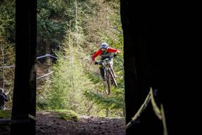 Photo of Martin ASHE at Innerleithen