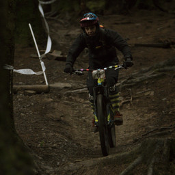 Photo of Katy CHERRINGTON at BikePark Wales