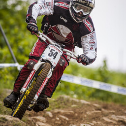 Photo of Dominick MENARD at Mont-Sainte-Anne, QC
