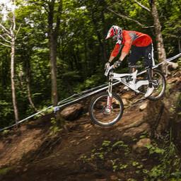 Photo of Cameron ZINK at Mont-Sainte-Anne, QC