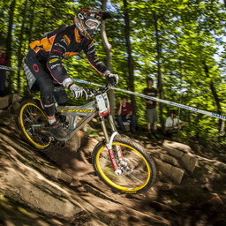 Photo of Helen GASKELL at Mont-Sainte-Anne, QC