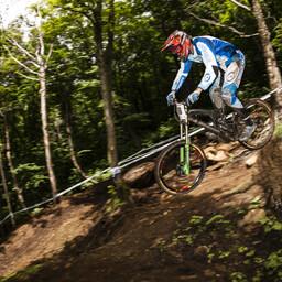 Photo of Jason CODDING at Mont-Sainte-Anne, QC