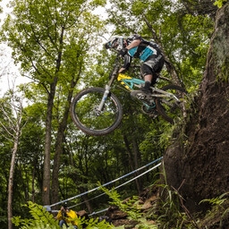 Photo of Jared GRAVES at Mont-Sainte-Anne, QC