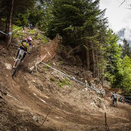 Photo of Dave WARDELL at Champéry