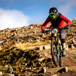 Photo of Nathan HEWITT at Ae Forest