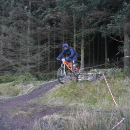 Photo of David FITZGERALD at Ae Forest