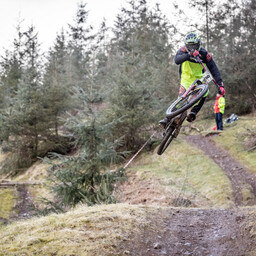 Photo of Nathan CARTWRIGHT at Ae Forest