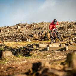 Photo of Owen POTTS at Ae Forest