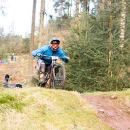 Photo of Lee BAINES at Ae Forest