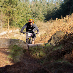 Photo of Joe BOUSFIELD at Ae Forest