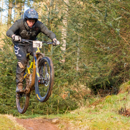 Photo of Grant MARTIN at Ae Forest