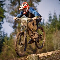Photo of Evan MACDONALD (yth) at Ae Forest
