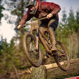 Photo of Jamie CARRUTHERS (jun) at Ae Forest