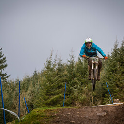 Photo of Michael SIMMONDS at Ae Forest