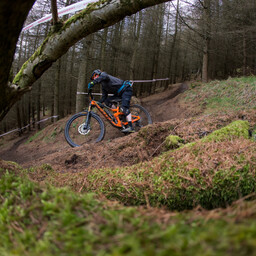 Photo of Stephen HARDY at Glentress