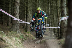 Photo of Dave WILLS at Glentress