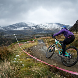 Photo of Emma MORRIS at Antur Stiniog
