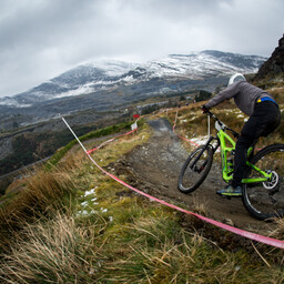 Photo of Adam HEPKE at Antur Stiniog