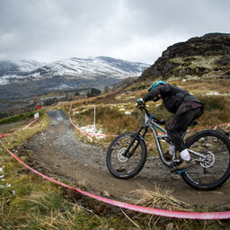 Photo of Dom BARBER at Antur Stiniog