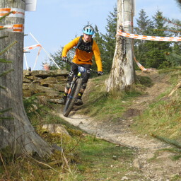 Photo of Ben MOORE (u19) at Gisburn Forest