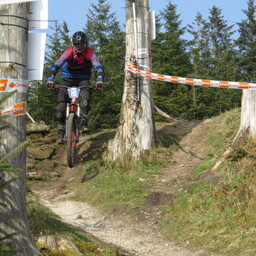Photo of Brian HOLMES at Gisburn Forest