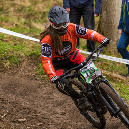 Photo of Charlotte HIGGINS at Innerleithen