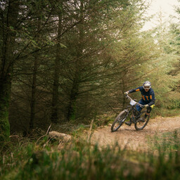Photo of Damien HORNBY at Gisburn Forest