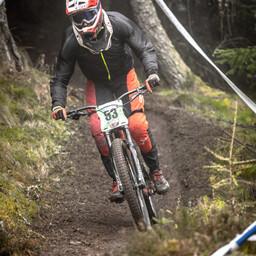 Photo of Adam BEATY at Innerleithen