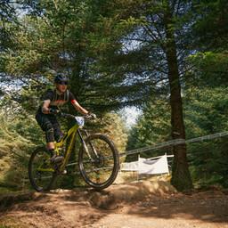 Photo of James ALLEN (u18) at Gisburn Forest