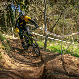 Photo of Ian WARBY at Afan