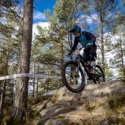 Photo of Andrew HAMILTON (elt) at Laggan Wolftrax
