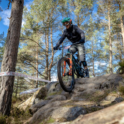 Photo of Ben NEWTON (mas) at Laggan Wolftrax