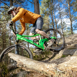 Photo of Finn COWELL at Laggan Wolftrax