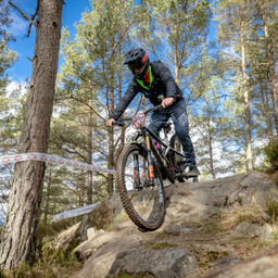 Photo of Rider 140 at Laggan Wolftrax