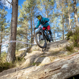 Photo of Adam WILLIAMS at Laggan Wolftrax