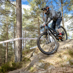 Photo of Scott ALLAN (sen) at Laggan Wolftrax