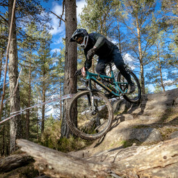 Photo of Peter TAYLOR (gvet) at Laggan Wolftrax