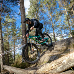 Photo of David GAULT at Laggan Wolftrax