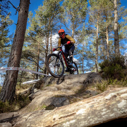 Photo of Alasdair ROTHE at Laggan Wolftrax