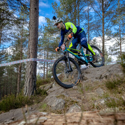 Photo of Dean SIMONS at Laggan Wolftrax