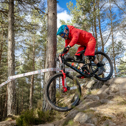 Photo of Mark SWINNEY at Laggan Wolftrax