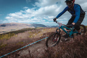 Photo of Kieron TOOLE at Laggan Wolftrax