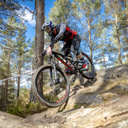 Photo of Rider 240 at Laggan Wolftrax