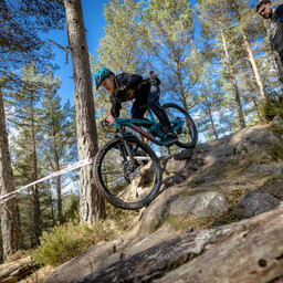Photo of Greg GORDON at Laggan Wolftrax